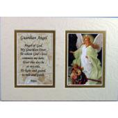 Guardian Angel 5x7 Mat with Prayer #57MAT-GA