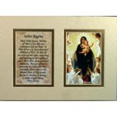 Queen of Angels 5x7 Mat with Prayer #57MAT-QA