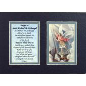 St. Michael 5x7 Mat with Prayer #57MAT-STM