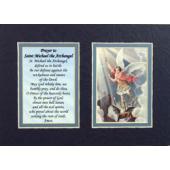 St. Michael 5x7 Mat with Prayer #57MAT-STM