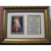 The Divine Mercy 5x7 Frame Prayer #57MF-DM