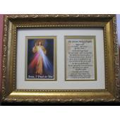 The Divine Mercy 5x7 Frame Prayer #57MF-DM
