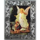 Guardian Angel 5x7 Rose Pewter Frame #57PF-GA