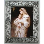 L'Innocence  5x7 Rose Pewter Frame #57PF-IN