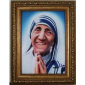 Mother Teresa 5x7 Gold Frame 57F-MT