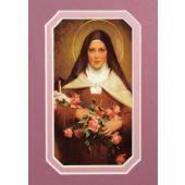 St. Therese 3x5 Prayerful Mat #35MAT-STT