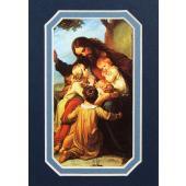Jesus with Children 3x5 Prayerful Mat #35MAT-JWC