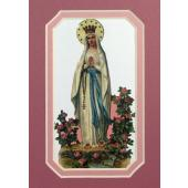 Our Lady of Lourdes 3x5 Prayerful Mat #35MAT-OLLB