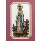 Our Lady of Lourdes 3x5 Prayerful Mat #35MAT-OLLB