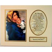 Madonna of the Streets 8x10 Ready to frame mat #810M-MS