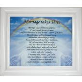 Marriage Takes Three Plaque #810F-MT3