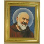 Saint Pio 8x10 Frame #810GF-PP4