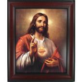 Sacred Heart of Jesus 8x10 Frame #810F-SHJ4
