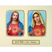 God Bless Our Home 8x10 Ready to frame mat #810M-HB1