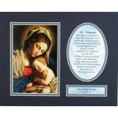 Madonna and Child 8x10 Ready to frame mat #810M-MCb