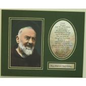 Padre Pio 8x10 Ready to frame Mat  #810MG-PP