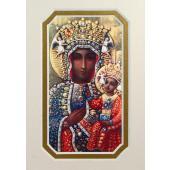 Our Lady of Czestochowa 3x5 Prayerful Mat #35MAT-OLCz