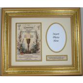 Grandson Communion Frame 83102-GRS