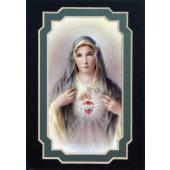Immaculate Heart of Mary 3x5 Prayerful Mat #35MAT-IHM(g)