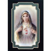 Immaculate Heart of Mary 3x5 Prayerful Mat #35MAT-IHM(g)