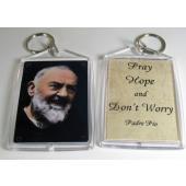 Padre Pio Key Chain #AKEY-PP