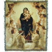 Queen of Angels Blanket #COV-QA