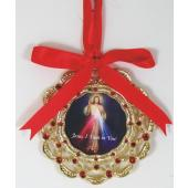 The Divine Mercy Ornament 1404-OR-DM