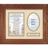 Personalized Sympathy 9x12 Plaque 10108
