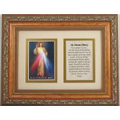 The Divine Mercy 5x7 Frame Prayer #57MF-DM2