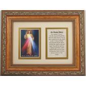 The Divine Mercy 5x7 Frame Prayer #57MF-DM2