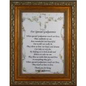 Godparents 5x7 Plaque #57F-GPS