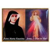 Divine Mercy and St Faustina  Lapel Pin #130