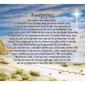 Footprints Blanket #COV-FP