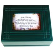 Irish Prayer Keepsake Box #4SJBX-IP