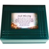 Irish Prayer Keepsake Box #4SJBX-IP2