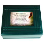 Prayer to St. Francis Keepsake Box #4SJBX-PSTF