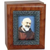 Padre Pio Keepsake Box #SJBX-PP