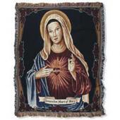Immaculate Heart of Mary Blanket #COV-IHM-N