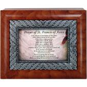 Prayer to St Francis 4x5 Keepsake Box #SJBX-PSTF