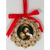 Madonna and Child Ornament 1404-MCB