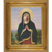 Our Lady in Prayer Oil Canvas Painting #2623-OLP2