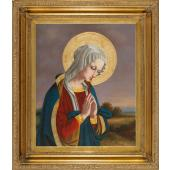 Our Lady in Prayer Oil Canvas Painting #2636-OLP