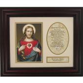 Sacred Heart of Jesus 8x10 Frame #MFS-C-SHJ7