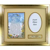 Personalized I'm Free Sympathy Plaque  MFS-G-IF-P