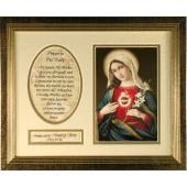 Immaculate Heart Plaque #MFS-IHM7