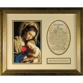 Madonna and Child Plaque #MFS-G-MCb