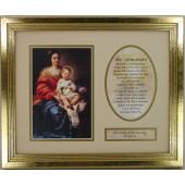Our Lady of the Rosary Plaque  #MFS-OLR