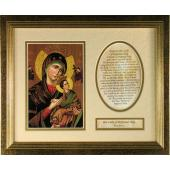 Perpetual Help Plaque 8x10 #MFS-PH