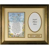 Personalized Sympathy Plaque Softly as I leave you #MFS-SYM-P