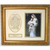 L'Innocence Plaque Matted with prayer #MFS-IN